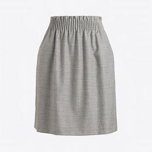 J Crew grey sidewalk skirt